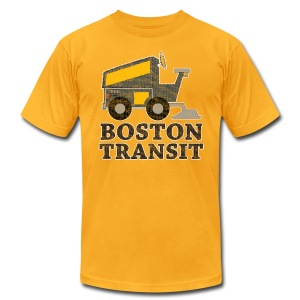 Boston Transit - Men's Fine Jersey T-Shirt