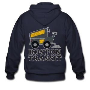 Boston Transit - Men's Zip Hoodie