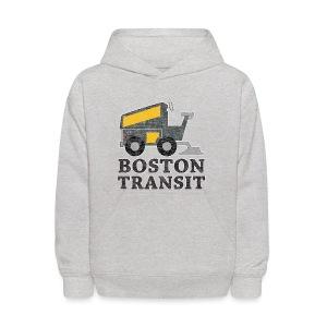 Boston Transit - Kids' Hoodie