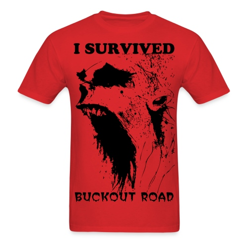 I SURVIVED BUCKOUR ROAD tee - Men's T-Shirt