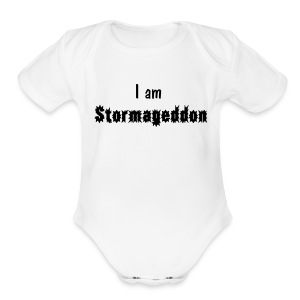 Doctor Who--I Am Stormageddon (babies) - Short Sleeve Baby Bodysuit