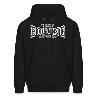 University of BORING Hoodies