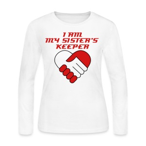 KKI I Am My Sister's Keeper - Women's Long Sleeve Jersey T-Shirt