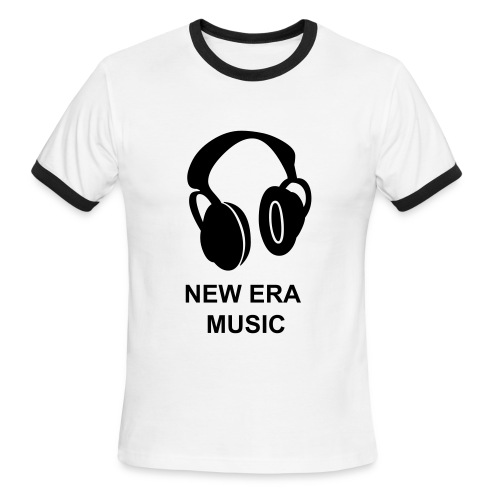 Men's Ringer T-Shirt - NEW ERA MUSIC BABY