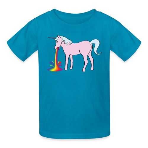 Inappropriate Unicorn for your offspring! - Kids' T-Shirt