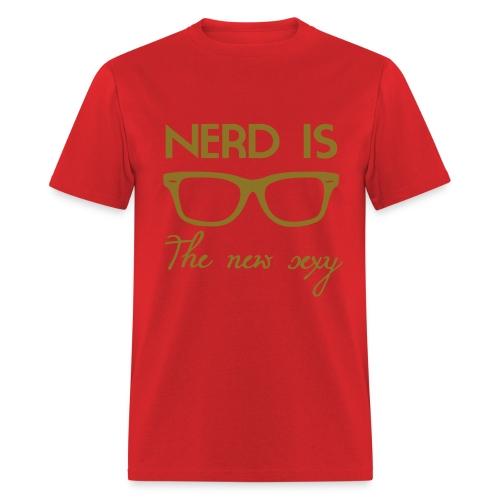 NERD IS THE NEW SEXY T-SHIRT - Men's T-Shirt