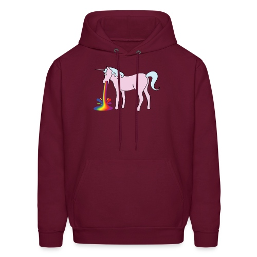 Inappropriate Unicorn for cold men - Men's Hoodie