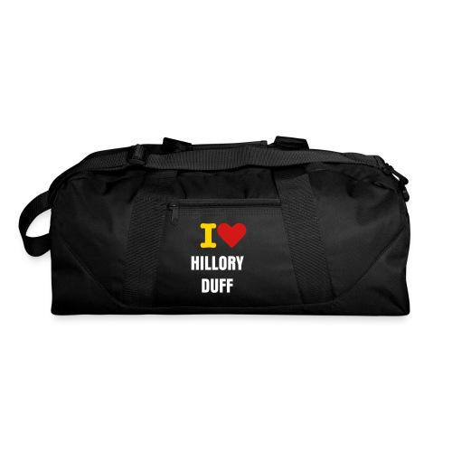 PILLOW CASE ( I <3 HILORY DUFF) - Duffel Bag