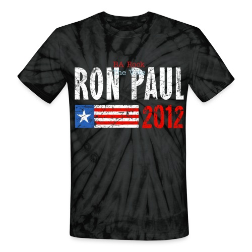 Ron Paul 2012 - Unisex Tie Dye T-Shirt