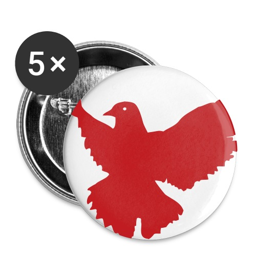 ~CS~ 1 Button 5 pack - Buttons small 1'' (5-pack)