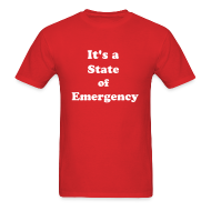 T-Shirts ~ Men's T-Shirt ~ Surviving the T&T State of Emergency by IZATRINI.com