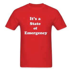 Surviving the T&T State of Emergency by IZATRINI.com - Men's T-Shirt