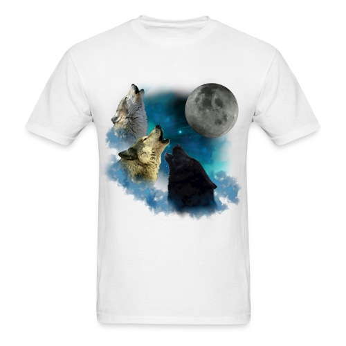 Wolf Moon 2 shirt - Men's T-Shirt