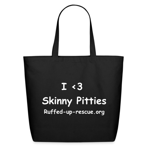 Skinny Pitties Tote - Eco-Friendly Cotton Tote