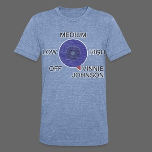 The Microwave - Unisex Tri-Blend T-Shirt by American Apparel