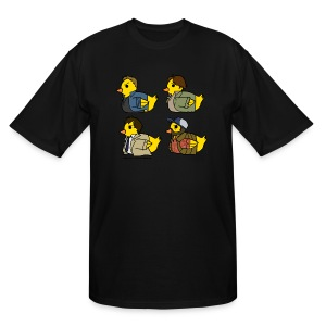 Duck Nation (DESIGN BY KARINA) - Men's Tall T-Shirt