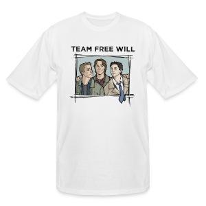 Team Free Will (DESIGN BY STEPHANIE) - Men's Tall T-Shirt