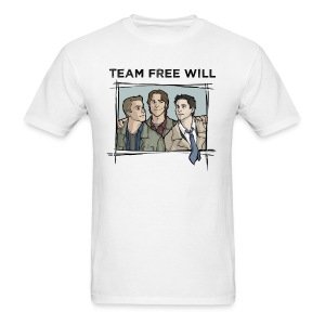 Team Free Will (DESIGN BY STEPHANIE) - Men's T-Shirt