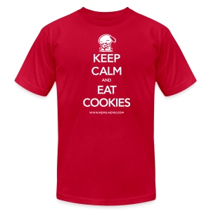 Eat Cookies AA Unisex - Men's T-Shirt by American Apparel