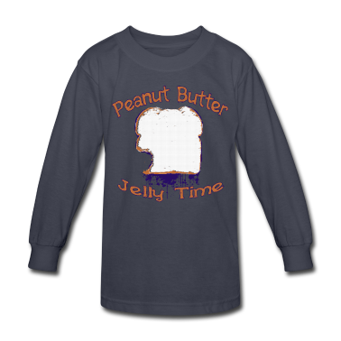 Peanut Butter Jelly Time Kids' Shirts