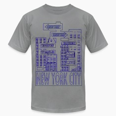 NYC Outline T-Shirts