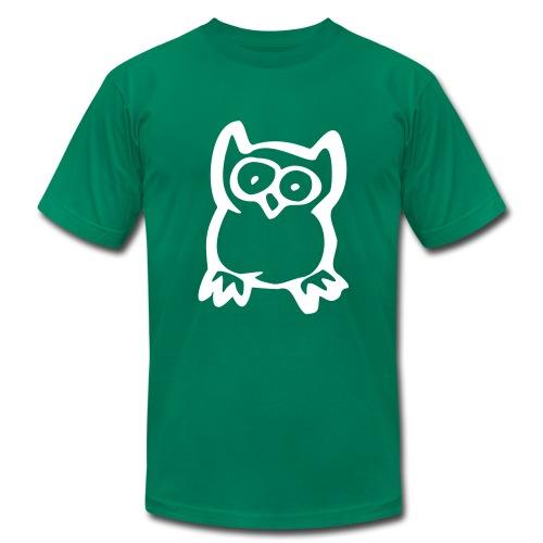 owl men's t-shirt - Men's Fine Jersey T-Shirt