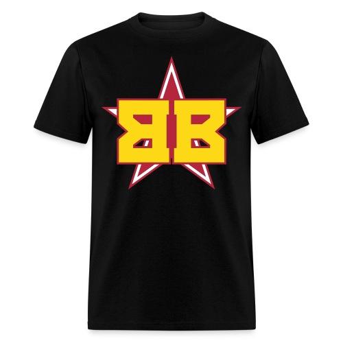 Men's Black Tee - Men's T-Shirt