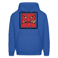 Hoodies ~ Men's Hoodie ~ Royal Blue Sweatshirt, Men's