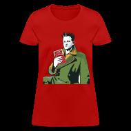 T-Shirts ~ Women's T-Shirt ~ Ladies Red Tee