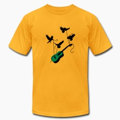 Guitar Birds T-Shirts