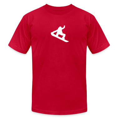 Snowboarder Silhouette T-Shirts