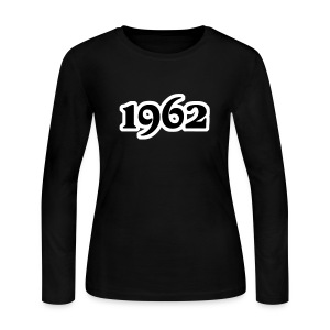 Groove Gem 1962 LS Tee - Women's Long Sleeve Jersey T-Shirt