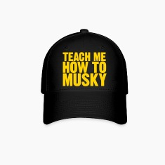 "Baseball Cap ""Teach Me How To Musky"" 