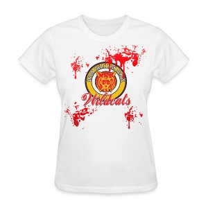 BLOODY HEROES CHEERLEADER COSTUME Women's T-Shirt - Women's T-Shirt