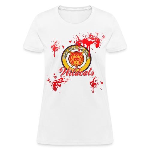 BLOODY HEROES CHEERLEADER COSTUME Women's T-Shirt - Women's T-Shirt