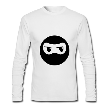 Ninja - White Long Sleeve