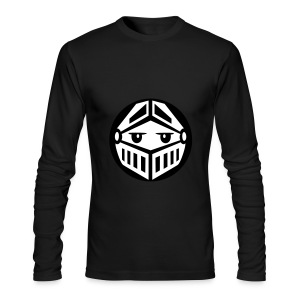 Knight - Black Long Sleeve - Men's Long Sleeve T-Shirt by Next Level