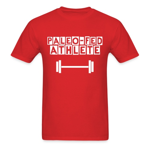 Men's Paleo-Fed Athlete T - Men's T-Shirt