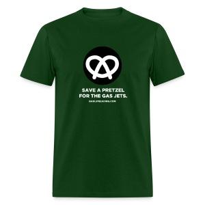 SAVE A PRETZEL - Men's T-Shirt