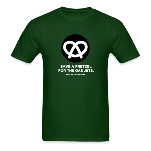 SAVE A PRETZEL - Men's T-Shirt