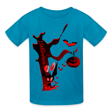 Halloween Horror party graphic art Children's T-Shirt