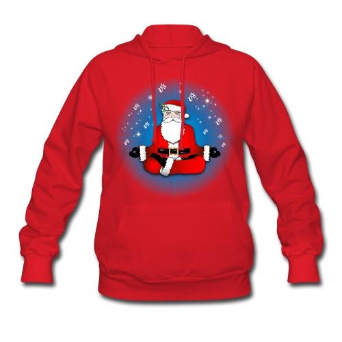 Santa's Meditation - Women's Hoodie