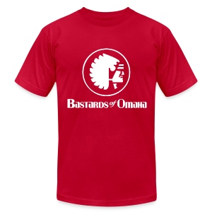 Bastards of Omaha - Men's T-Shirt by American Apparel