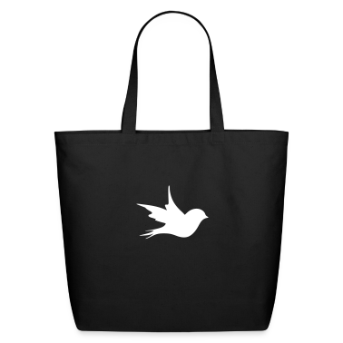 a little bird as a silhouette  Bags