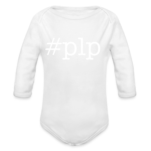 #plp con twitter baby one size (long sleeve) - Organic Long Sleeve Baby Bodysuit