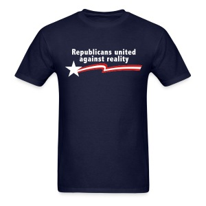 Republicans United Against Reality - Men's T-Shirt