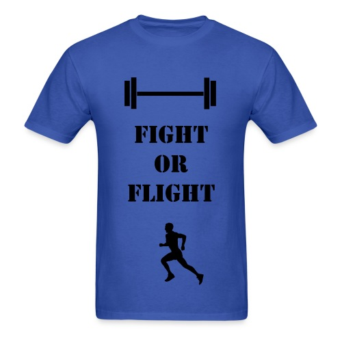 Men's Fight or Flight T - Men's T-Shirt