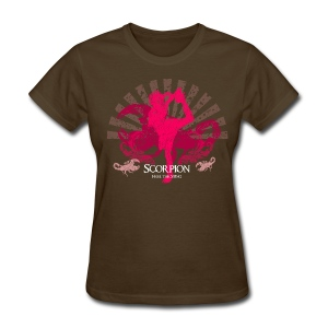 Scorpion-feel the sting-brown - Women's T-Shirt