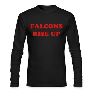 FALCONS RISE UP LONG SLEEVE T-SHIRT - Men's Long Sleeve T-Shirt by Next Level