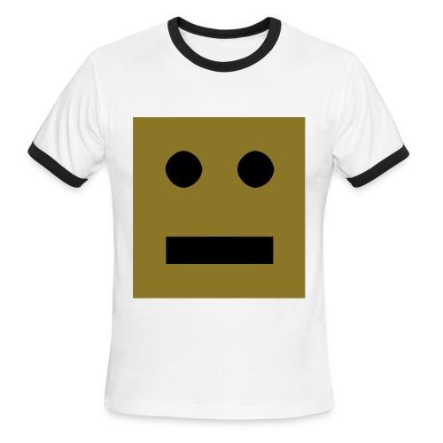Robot T - Men's Ringer T-Shirt